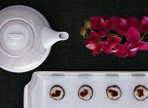 Sushi ze świeżym tuńczykiem i ogórkiem - ugotuj