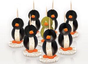 Oliwkowe pingwinki - ugotuj
