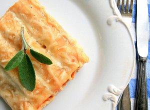 Pomidorowe cannelloni z indykiem i kandyzowaną pomarańczą - ugotuj