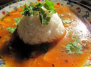 Zupa z grzybami i ryżem - ugotuj
