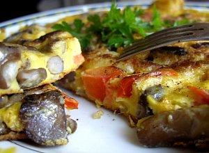 Omlet grzybowy - ugotuj