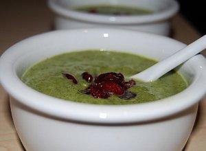 Zupa krem szpinakowo-brokułowy - ugotuj