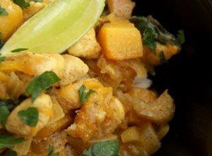 Żółte curry z dynią - ugotuj