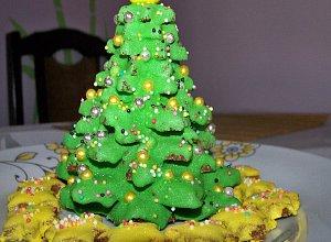 Choinka z pierników - ciasteczka - ugotuj