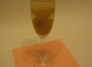 Deser w kształcie szampana - ugotuj