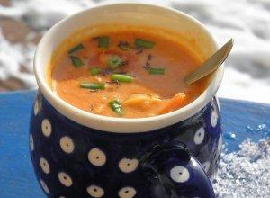 Zupa soczewicowo - kokosowa z chili - ugotuj