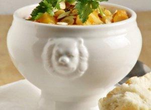 Zupa z dynią i ciecierzycą - ugotuj