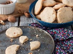 Ciasteczka orzechowe na palonym maśle - przepis blogera