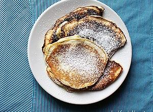 Lawendowe pancakes - ugotuj