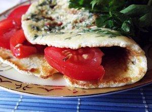 Omlet zielony, czyli z natką pietruszki usmażony - ugotuj
