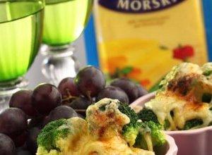 Grillowane brokuły z serem - ugotuj
