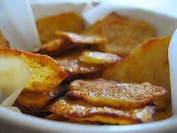 Chipsy domowe - ugotuj