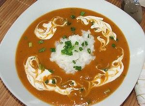 Krem marchwiowo-pomidorowy - przepis bloggerar - ugotuj