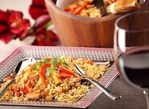 Risotto makaronowe z kurczakiem i warzywami - ugotuj