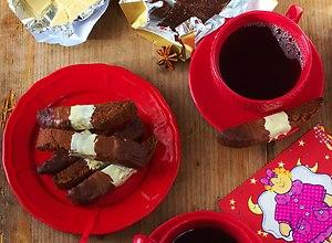 Biscotti Piernikowe w Czekoladzie - ugotuj