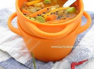 Rozgrzewająca zupa z soczewicą i imbirem - ugotuj
