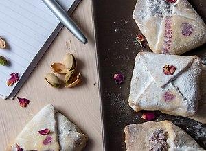 Ciasteczka  Miłosne listy  - ugotuj
